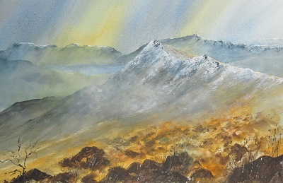 Blencathra in the mist 2014